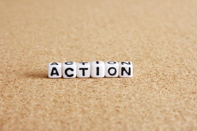 行動 Action